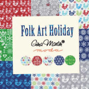 Folk Art Holiday Moda Fabric